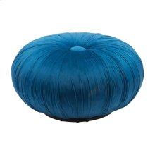 Bund Ottoman Blue Velvet