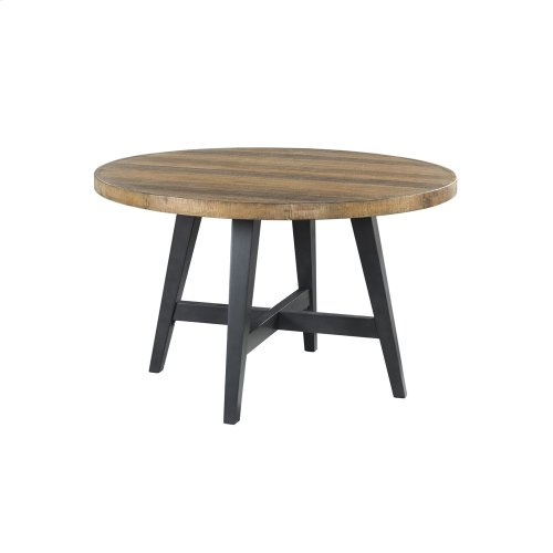 Urban Rustic Round Dining Table