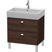 Vanity Unit Floorstanding, Chestnut Dark (decor)