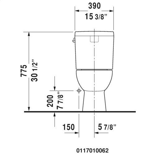 D-code Two-piece Toilet