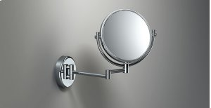 Chrome Magnifying Mirror 2 Arms (x3) Standard Product Image