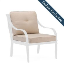 Charlotte Patio Dining Chair Replacement Cushions (Set of 2)