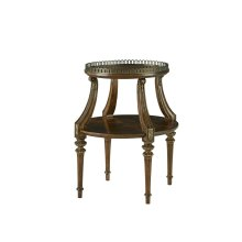 Pauline Oval Tiered Table