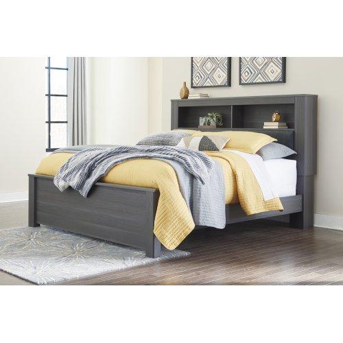 Foxvale - Gray/White 3 Piece Bed Set (King)