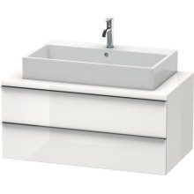 Happy D.2 Vanity Unit For Console, White High Gloss (decor)