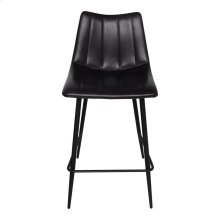 Alibi Counter Stool Matt Black-m2