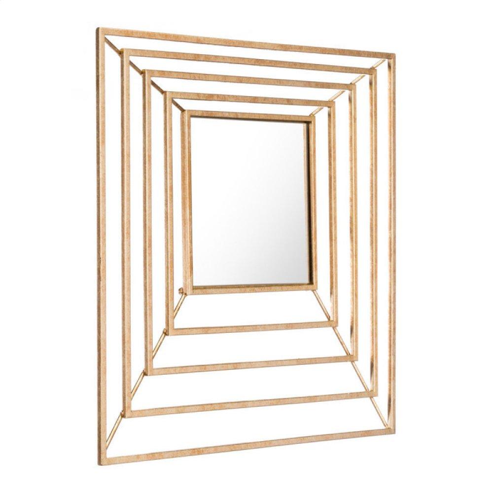 Dimension Gold Mirror Gold