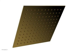 """12"""" X 12"""" Square Shower Head 3-337 - French Brass Product Image"""