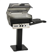 Deluxe Series - H3-PK3N Deluxe Grill Package with 26-Inch Patio Post with Base (Natural Gas Only)