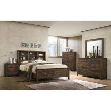8100 Rustic Oak Mirror