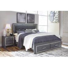 Lodanna - Gray 3 Piece Bed Set (King)