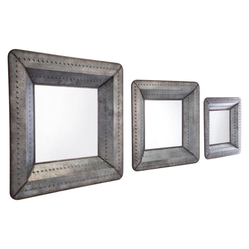 Set Of 3 Antique Mirrors Antique