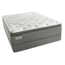 BeautySleep - Alvara Plush Pillow Top - Queen 2 pc. Mattress Set