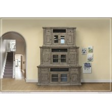"60"" TV Stand 2 Drawer, 4 Door"