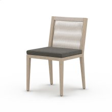Charcoal Cover Sherwood Outdoor Dining Chair, Washed Brown