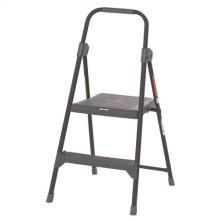 2 Step Steel Step Stool - 225 lbs