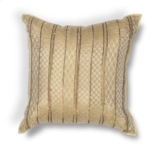 "L184 Gold Sari Silk Pillow 18"" X 18"""