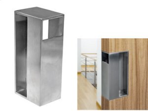 Sliding Door Edge Pull Handle (stainless Steel) Product Image