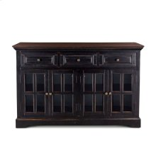 "Antibes Sideboard 62"" Dark Walnut"