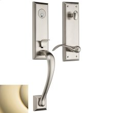 Lifetime Polished Brass Cody 3/4 Handleset