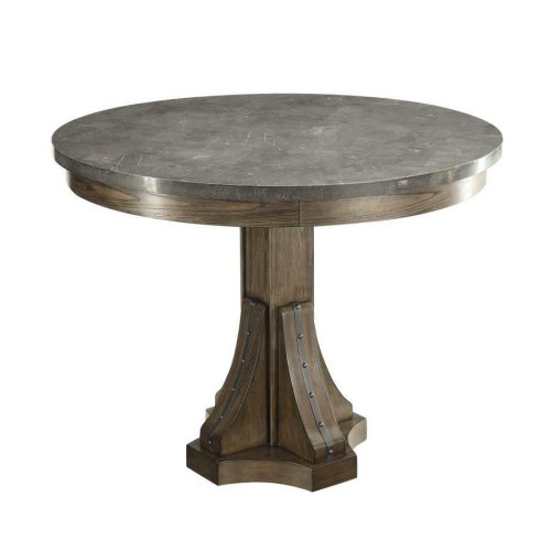 Willowbrook Rustic Chinese Ash Round Dining Table
