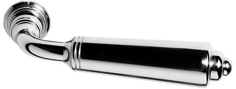 """Satin Nickel Profile unsprung door levers, 5"""""""