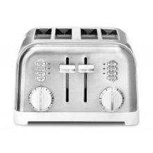 4 Slice Metal Classic Toaster