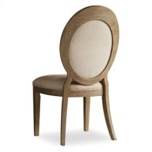 Dining Room Corsica Oval Back Side Chair