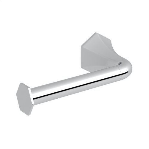 Polished Chrome Bellia Wall Mount Open Toilet Paper Holder