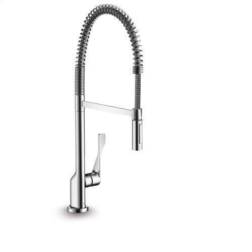 Chrome Single lever kitchen mixer 230 Semi-Pro