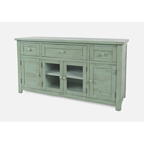 "American Folklore 60"" Console - Antique Sage"