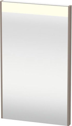 Mirror With Lighting, Basalt Matt (decor) Product Image