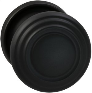 Interior Traditional Knob Latchset in (US10B Oil-rubbed Bronze, Lacquered) Product Image