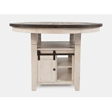 Madison County High/low Ext Table Top - Vintage White