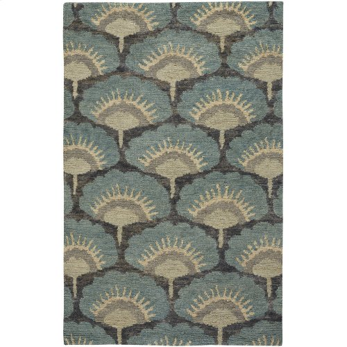 Isobel Oasis Blue Hand Knotted Rugs