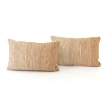 "16x24"" Size Flaxen Ombre Pillow, Set of 2"