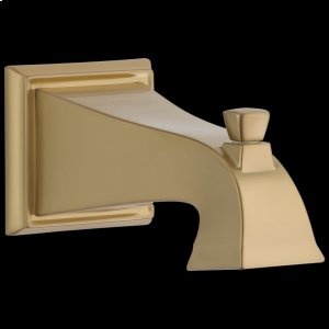 Champagne Bronze Tub Spout - Pull-Up Diverter Product Image
