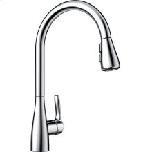 Blanco Atura With Pull-down Spray - Polished Chrome