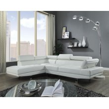 CONNOR CREAM PU SECTIONAL SOFA