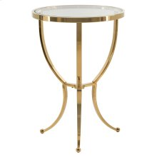 Adella Round Chairside Table