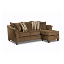 6485 CHESTNUT Kendrick Chaise-Sofa