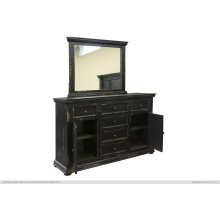 6 Drawer, 2 Door, Dresser