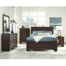 Fenbrook Transitional Dark Cocoa Queen Bed Product Image
