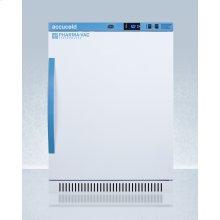 Performance Series Pharma-vac 6 CU.FT. Freestanding ADA Height All-refrigerator for Vaccine Storage