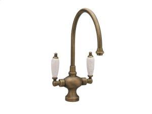 Kitchen & Bar Single Hole Bar Faucet K8158BH - Polished Brass Product Image