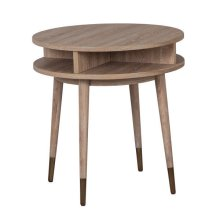 La Jolla Round End Table