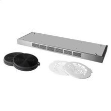 """Optional 48"""" Non-Duct Kit for Broan Elite E60 and E64 Series Range Hoods in Stainless Steel"""