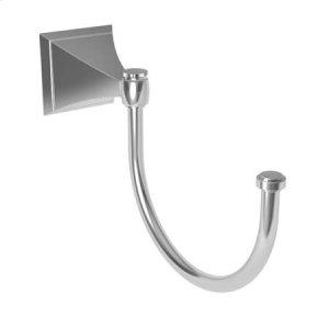 Polished Chrome Pivoting Towel Hook Product Image