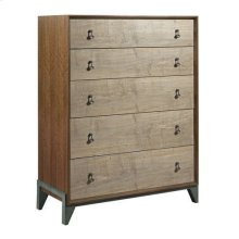 AD Modern Synergy Motif Maple Drawer Chest