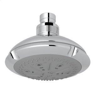 "Polished Chrome 4 1/2"" Ocean4 Multi-Function Showerhead Product Image"